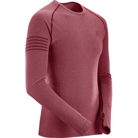 Salomon M's Pulse Seamless LS Tee Biking Red